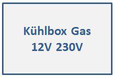 Kühlbox Gas 12V 230V